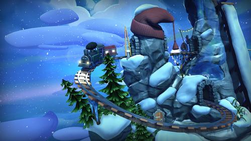 curious tale winter train