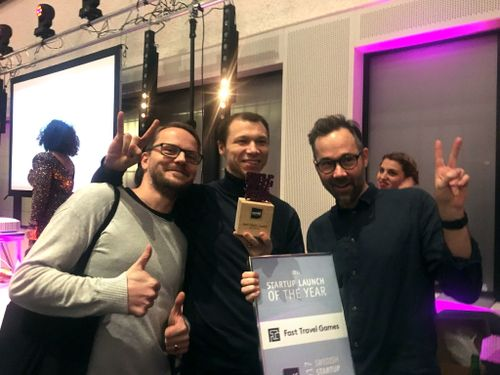 startup launch of the year award